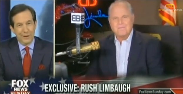 Rush on Fox News Sunday