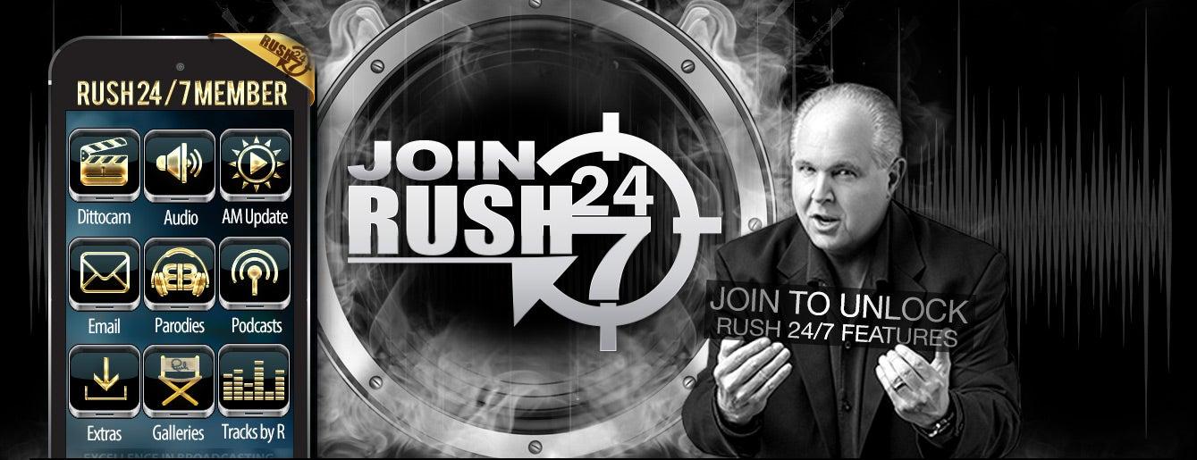 rush 24 7 podcast Join Rush 24/7 - The Rush Limbaugh Show