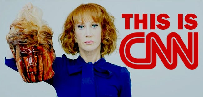 Kathy Griffin Illustrates the Media's Political Assassination of Donald Trump