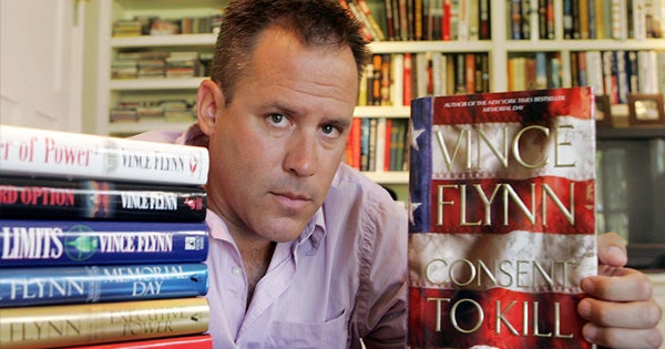 vince flynn was mitch rapp long room
