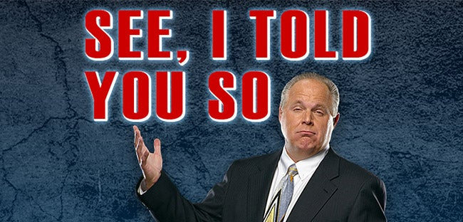 a review of see i told you so by rush limbaugh Rush limbaugh - see, i told you so [from cassette][mp3] torrent download,torrent hash is 9dd45da8f34b0f450981eea2df33139b556b9267.