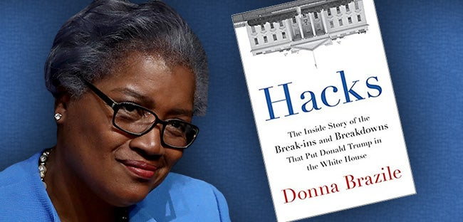 Image result for photo of donna brazile's book