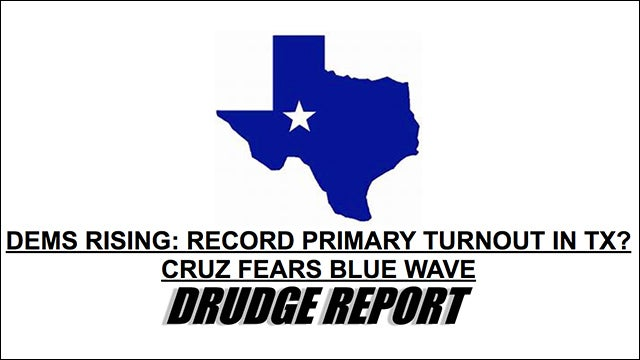 Image result for drudge texas fight for his life