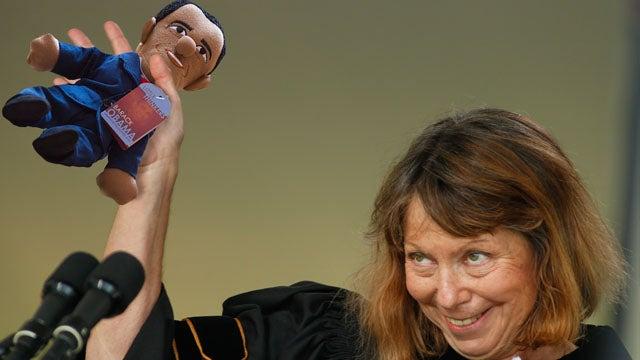 Jill Abramson's Obama Doll