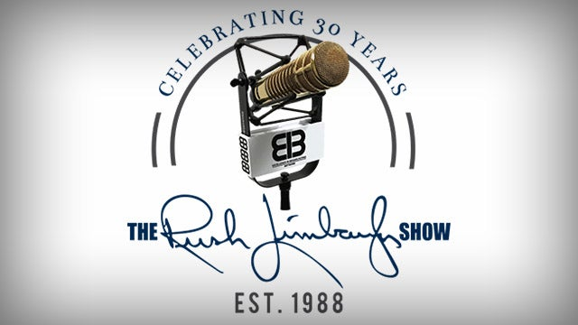 it doesn t feel like 30 years the rush limbaugh show