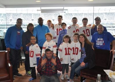 IT WAS AN HONOR TO MEET SPECIAL FAMILIES FROM THE MAKE-A-WISH FOUNDATION.