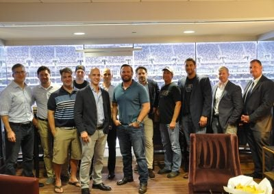 WE WERE PROUD TO HOST A PHENOMENAL GROUP OF UNITED STATES NAVY SEALS. TRUE HEROES!