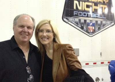 KATHRYN AND I ON OUR WAY TO A SUNDAY NIGHT FOOTBALL GAME! GREAT TIME.