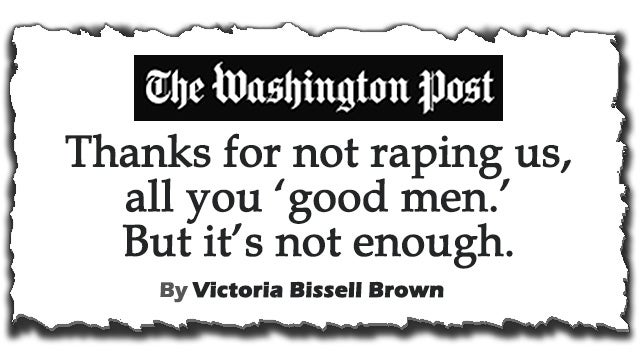 Partner Content - Angry Feminist Professor Spews Man-Hatred in the Washington Post