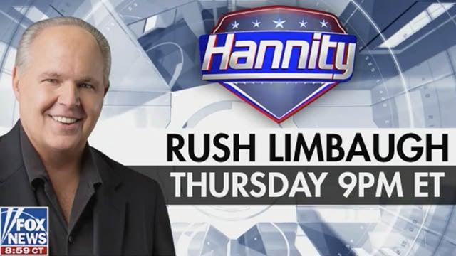 Partner Content - Don't Miss Rush on Hannity on Thursday Night