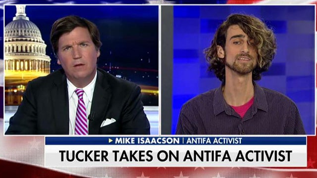 Partner Content - The Attack on Tucker Carlson Is Terrorism, Not Protest!