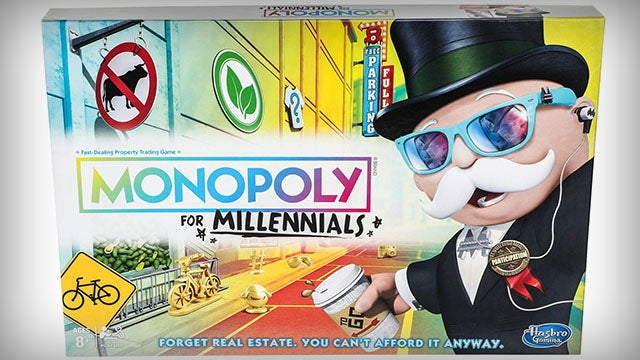 Partner Content - Outrage Over Monopoly for Millennials and MAGA Blocks