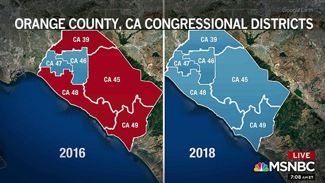 Partner Content - Dems Flipped Over Half of Orange County House Seats After Election Night