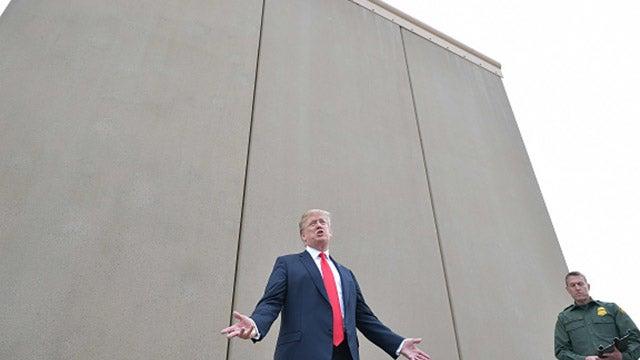 e5ad7ce5237 CALLER  Concerning the border wall with Mexico and paraphrasing Ronald  Reagan