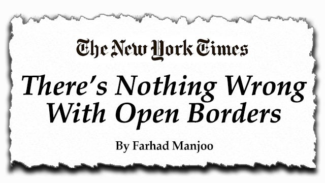 Partner Content - The Left Believes Open Borders Are Inevitable