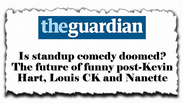 Partner Content - The Piece on Comedy I've Been Promising You