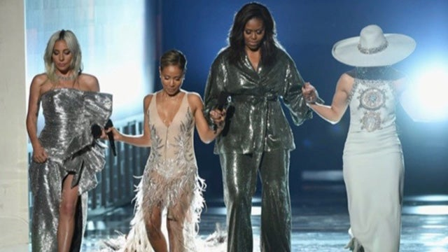 Image result for michelle obama grammys 2019