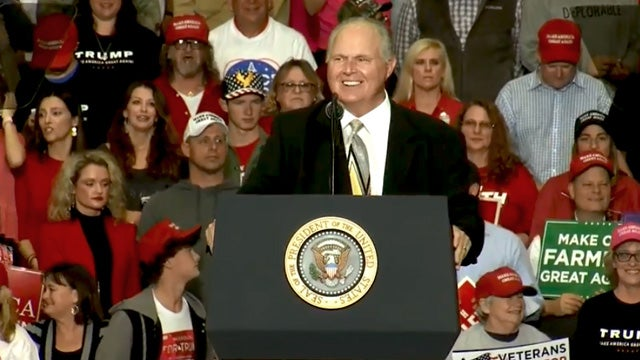 Partner Content - Drive-Bys Decide President Limbaugh Gave Trump the Okay to Sign the Bill