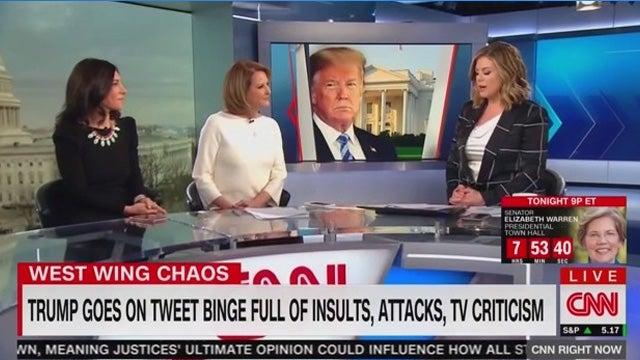 Cnn Goes On Trump Derangement Binge