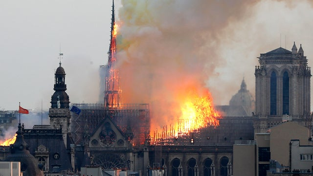 Partner Content - Notre Dame Engulfed in Flames