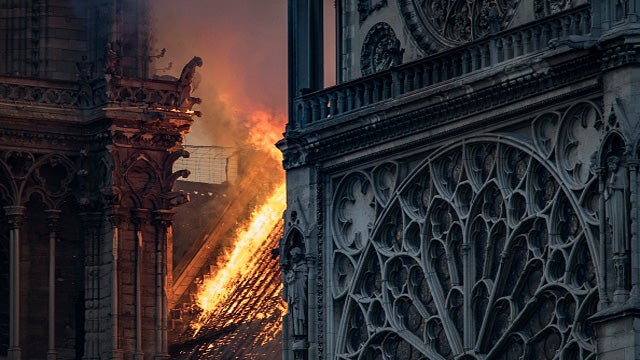 Partner Content - Don't Say Arson! Media Focuses on Right-Wing in Notre Dame Inferno