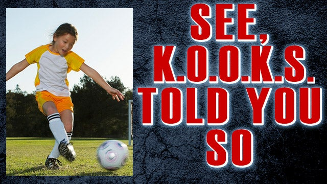 Partner Content - See, K.O.O.K.S. Told You So! Soccer Head Injuries Plague Girls