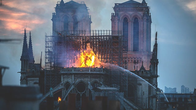 Partner Content - Leftists and the Notre Dame Fire