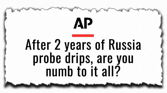 Partner Content - AP Claims Trump Made You Numb to Mueller Report
