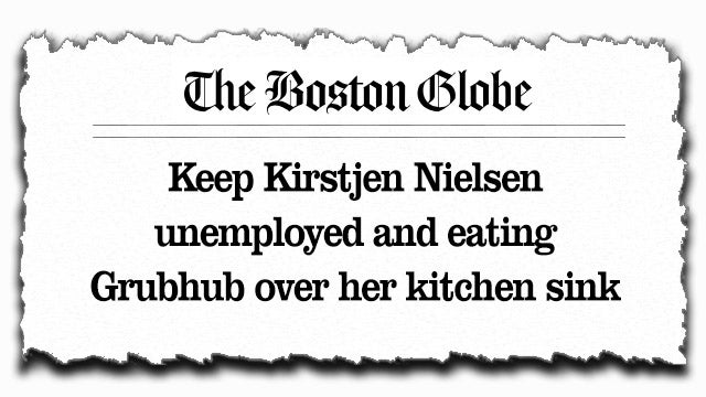 Partner Content - Boston Globe Op-Ed Tells Waiters to Tamper with Trump Officials' Food