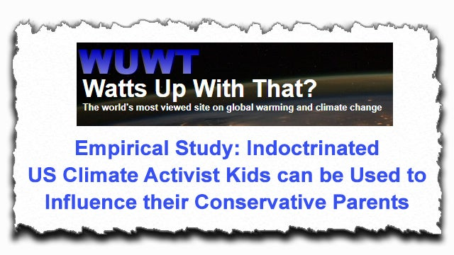 Partner Content - Study: Leftist-Indoctrinated Children Influence Parents