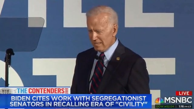 Partner Content - Biden Doubles Down on Love for Segregationists