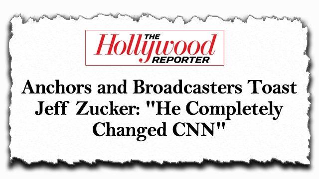 Zucker Wins Award for Tanking CNN Ratings - The Rush