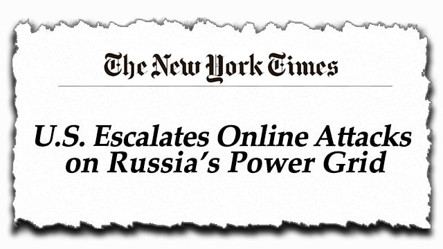 Partner Content - Another New York Times Story to Keep the Russia Lie Alive
