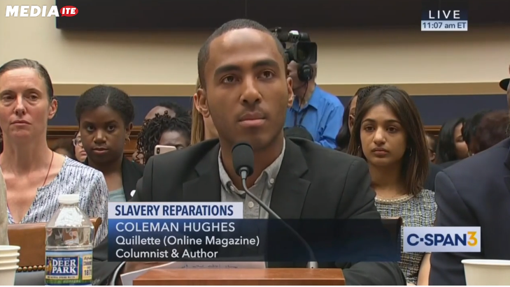 Partner Content - Star Witness at Reparations Hearing Is a Wealthy Actor