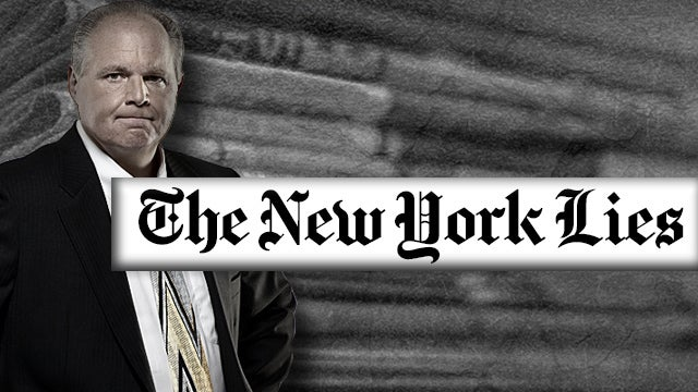 Partner Content - If Everyone Knows the New York Times Lies,  Why Should Anyone Read It?