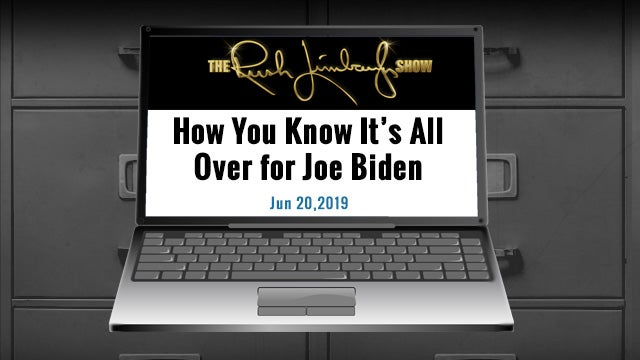Partner Content - The Biden Takedown Started in June
