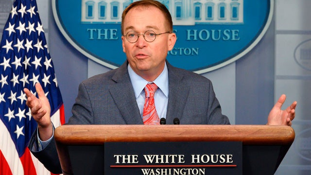 Partner Content - Parsing What Mick Mulvaney Actually Said
