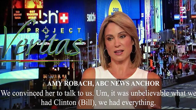 Partner Content - O'Keefe Strikes Again! Anchor Admits ABC News Spiked Clinton-Epstein Story