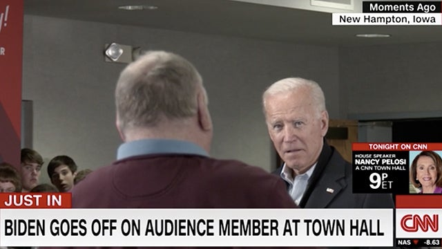Partner Content - Biden Challenges Iowa Voter to I.Q. Test