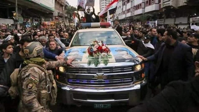 Partner Content - Death to America? Chevy Truck Carried What's Left of Soleimani