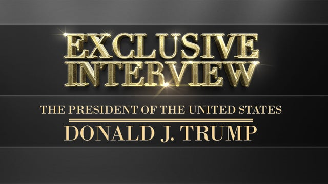 Partner Content - America's Anchorman Interviews President Trump