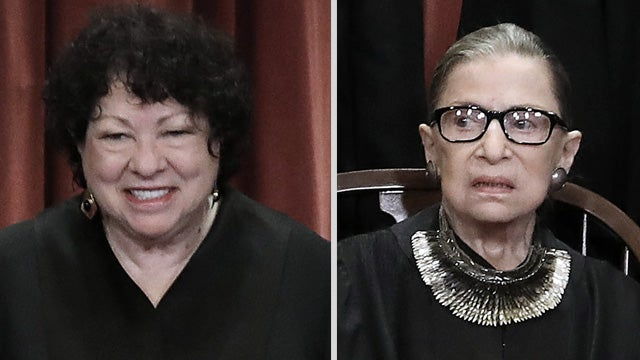 image for Trump Pushes Back Against Sotomayor and Ginsburg
