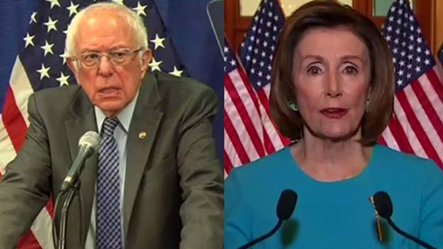 image for Bernie and Pelosi Address the Nation
