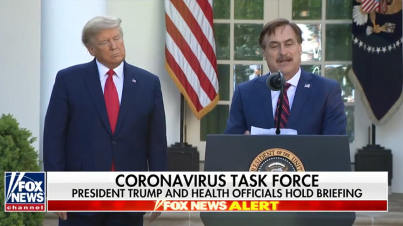 My Pillow Ceo Mike Lindell Triggers Media By Mentioning God The Rush Limbaugh Show
